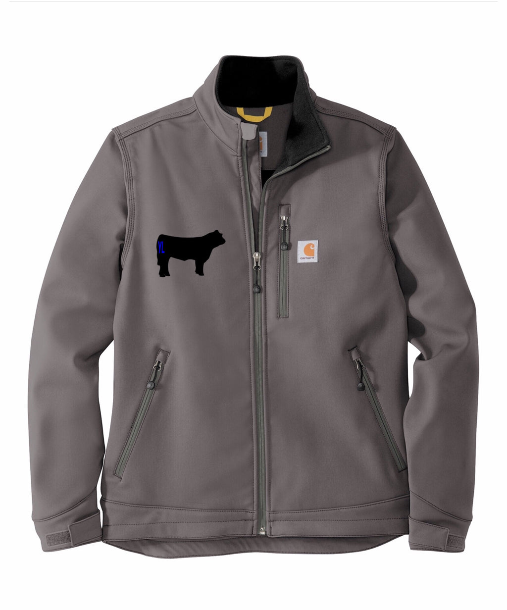 Branded Cow Carhartt Crowley Soft Shell Jacket