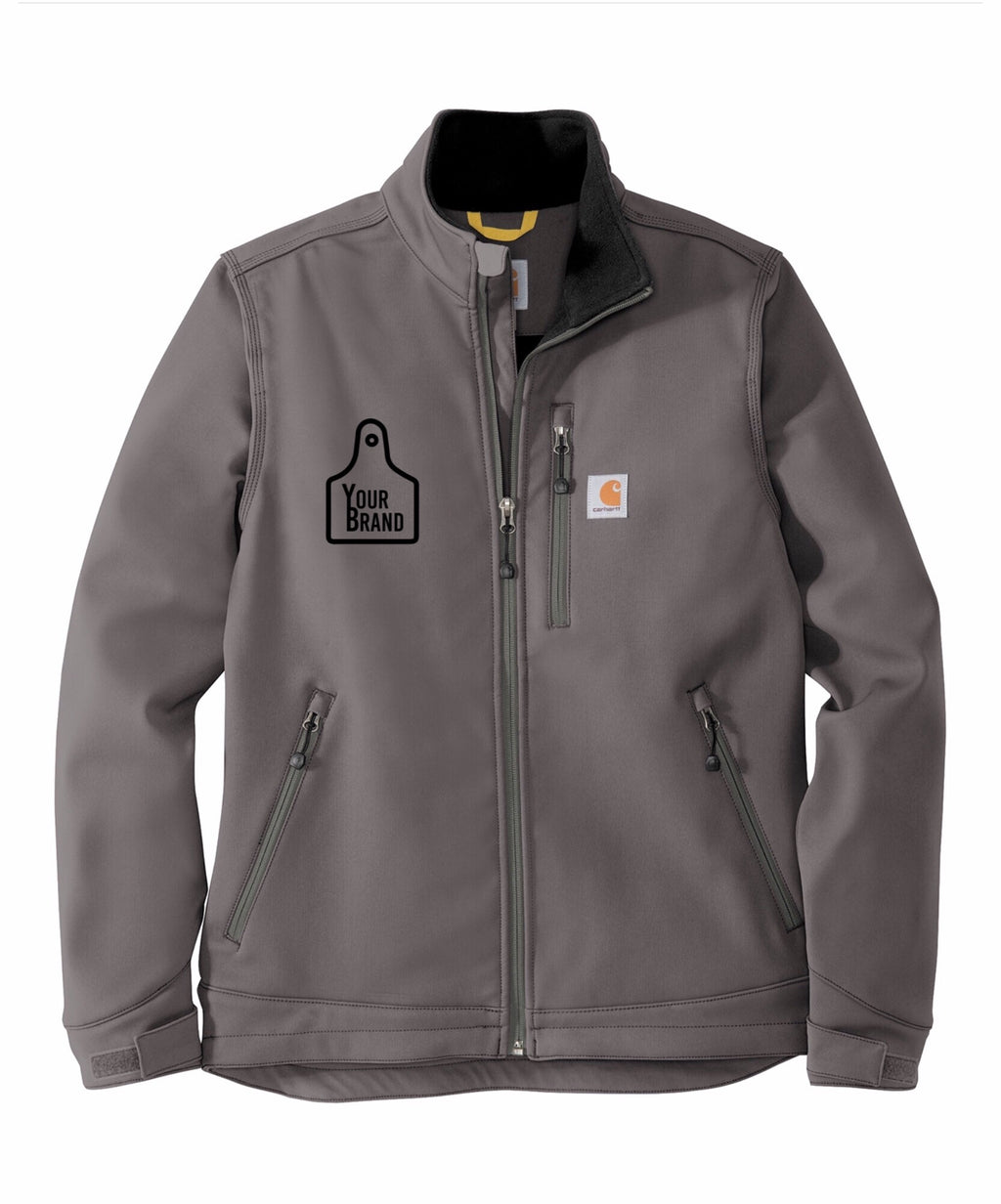 Cow Tag Carhartt Crowley Soft Shell Jacket