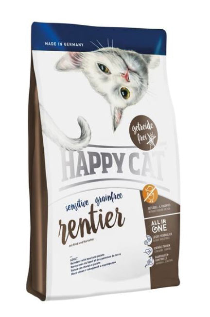 Happy Cat Sensitive Grainfree Rentier - 成貓鹿肉無穀物配方