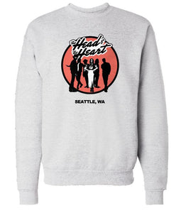The Head And The Heart Hard Rock crewneck sweatshirt
