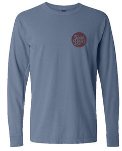 The Head And The Heart blue long sleeve tee