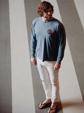 Load image into Gallery viewer, Blue Long Sleeve Tee