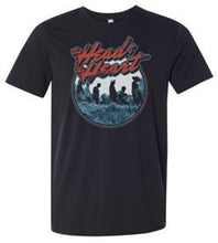 Load image into Gallery viewer, The Head And The Heart black Rock Crest t-shirt