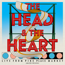 Load image into Gallery viewer, The Head and The Heart - Live from Pike Place Market (Amazon Original) on Vinyl [pre-order]