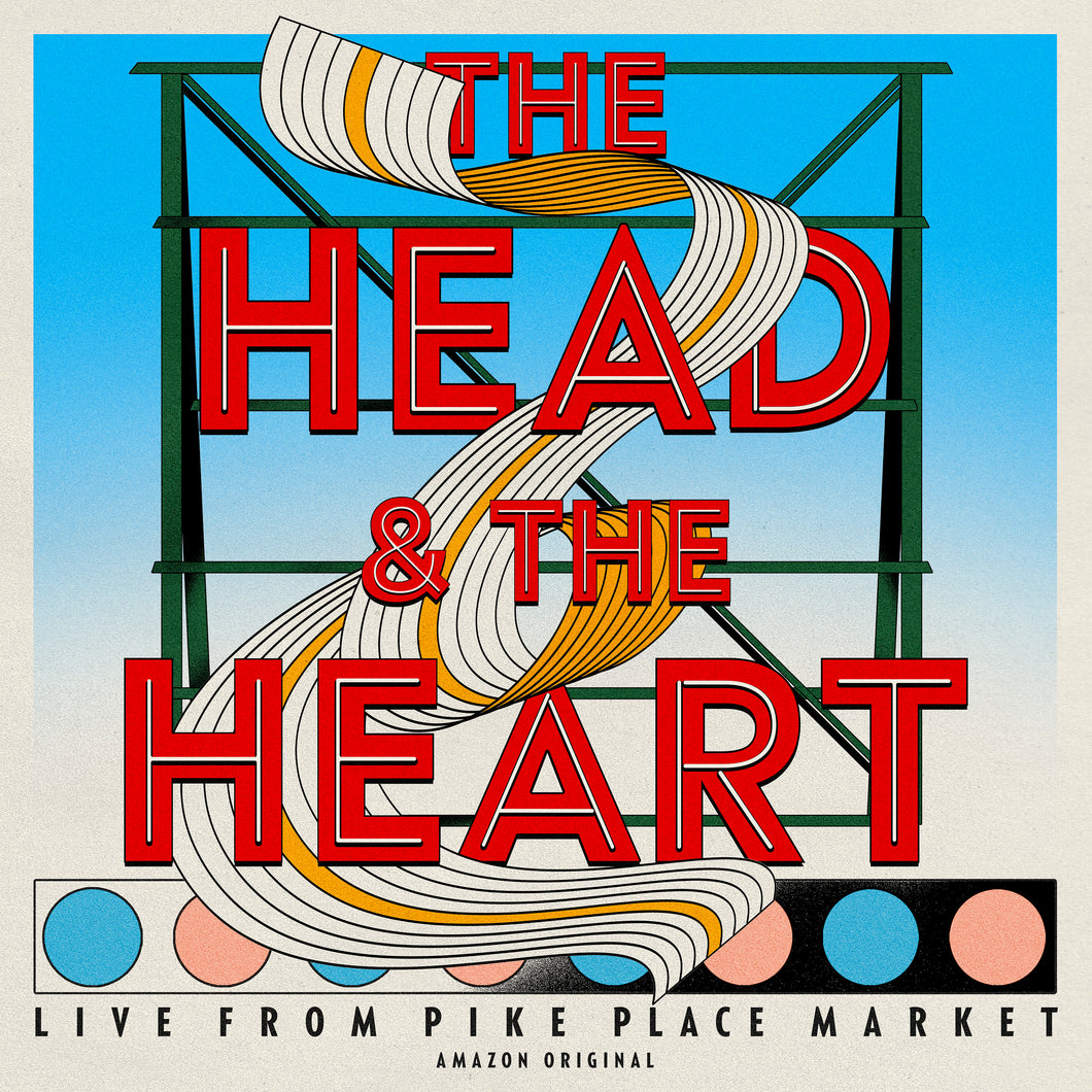 The Head and The Heart - Live from Pike Place Market (Amazon Original) on Vinyl [pre-order]