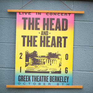 2016 Greek Theatre Tri-Color Poster