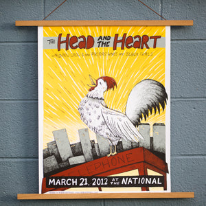 2012 The National Poster