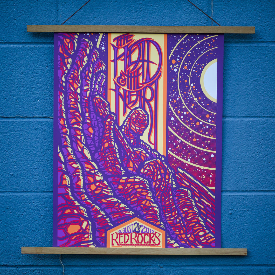 2017 Red Rocks Poster, Night 1