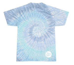 The Head And The Heart blue tie dye t-shirt