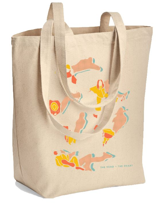 The Head And The Heart tote bag