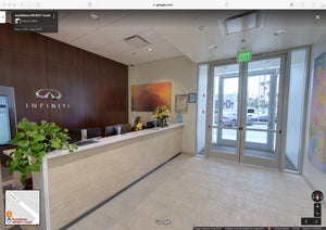 Panorama Tour at Infiniti Tustin, California