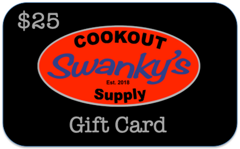 Swanky's Cookout Supply Gift Cards