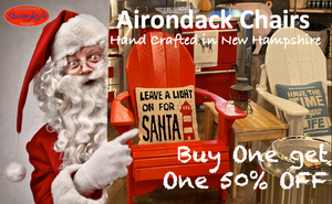 Adirondack Chairs Buy One get One 50% off