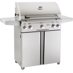 American Outdoor Grill T-Series 30-Inch 3-Burner Propane Gas Grill W/ Rotisserie & Single Side Burner - 30N(P)CT