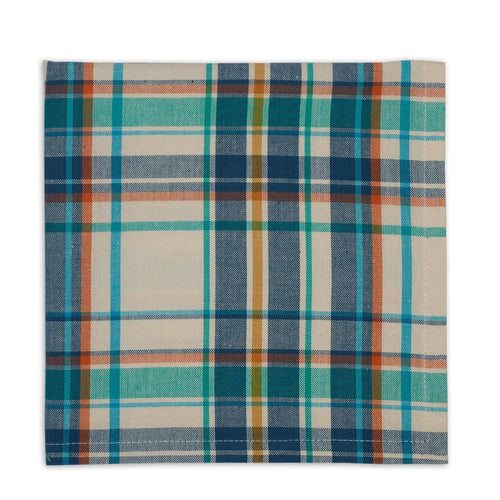 Happy Camper Plaid Napkin