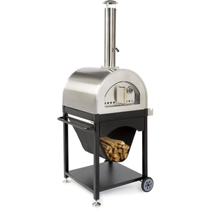 "WPPO Pro 4 25-Inch Outdoor Wood-Fired Pizza Oven On Cart with Cover & Tools ""Free Cover & Tools"""