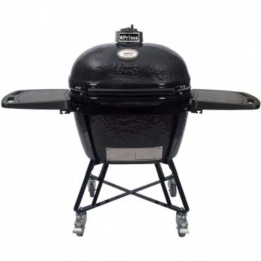 Primo All-In-One Oval XL 400 Ceramic Kamado Grill With Cradle & Side Shelves - 7800 $1,967.97