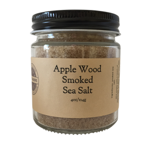 Apple Wood Smoked Sea Salt - Salt Traders