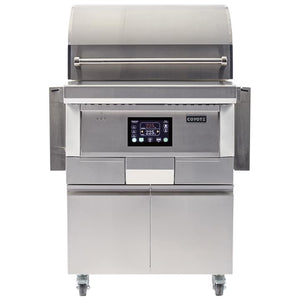 Coyote 28″ Stainless Wood Pellet Freestanding Grill