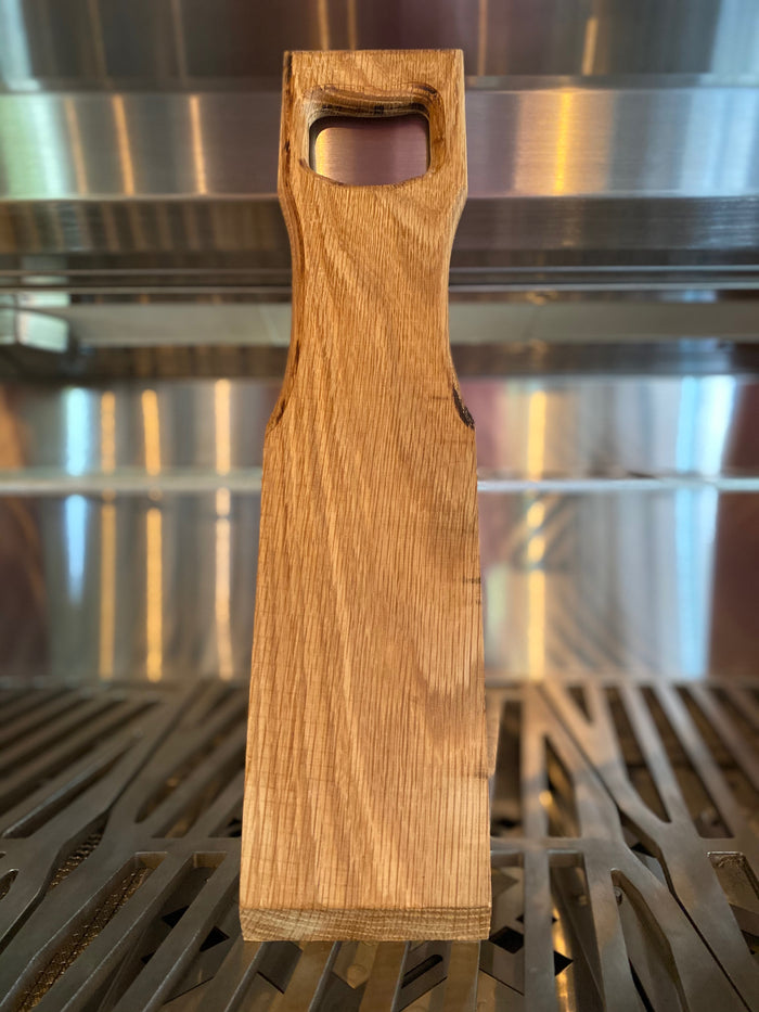 "Veteran Hand Crafted - Wooden Grill Scraper - Oak - 15.5"" L x 3.5"" W $22.97"