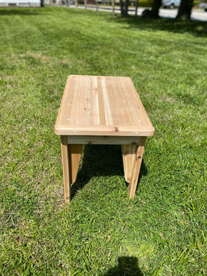 Adirondack Cedar Side Table $167.97