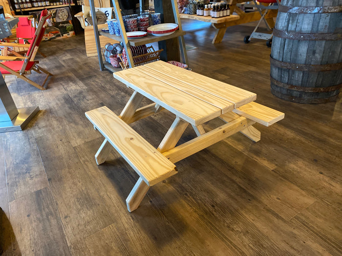 Veteran Hand Crafted Kids Picnic Tables