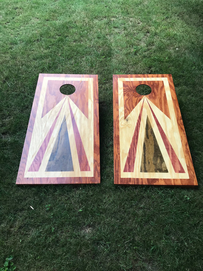 Veteran Hand Crafted Corn Hole Boards (bags sold separately)