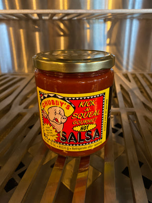 Chubby's Hot Kick and Squeal Salsa $7.97