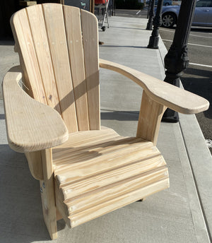Veteran Made Kids Adirondack Chairs.