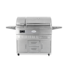 Load image into Gallery viewer, Louisiana Grills Estate Series 860 sq in 304 Stainless Steel Pellet Grill w/ Full Lower Cabinet- LG ESTATE 860C $2,797.00  +FREE Swanky's Bonus