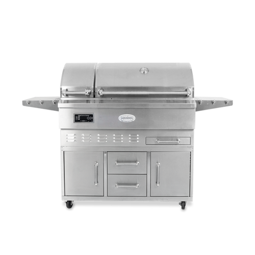 Louisiana Grills Estate Series 860 sq in 304 Stainless Steel Pellet Grill w/ Full Lower Cabinet- LG ESTATE 860C $2,797.00