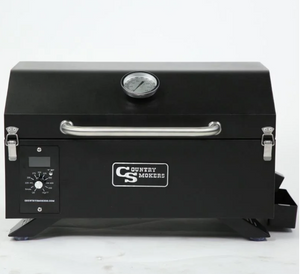 Country Smokers Portable Wood Pellet Grill and Smoker - CSPEL015010497