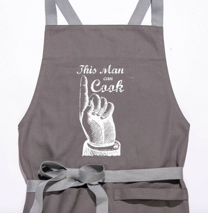 "Twisted Wares ""This man can cook"" Apron"