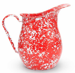 Crow Canyon Splatter 3 quart Large Pitcher Assorted Colors