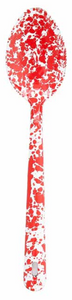 Crow Canyon Splatter 12 inch Serving Spoon Assorted Colors