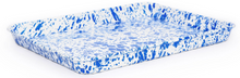 Load image into Gallery viewer, Crow Canyon Splatter Jelly Roll Pan/ Rectangle Tray Assorted Colors