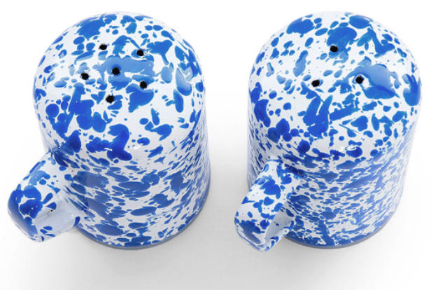 Crow Canyon Splatter Salt and Pepper Shaker Set