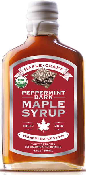 Maple Craft Peppermint Bark Maple Syrup