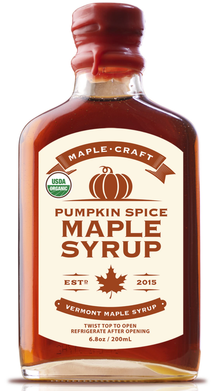 Maple Craft Pumpkin Spice Maple Syrup
