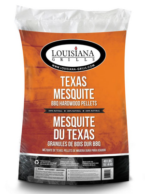 Louisiana Grills Texas Mesquite Pellets 40LB