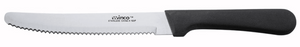Winco Stainless Steel Round Tip Steak Knife (Set of 6)