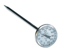 "Load image into Gallery viewer, Comark 1"" Dial Thermometer"