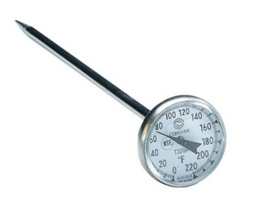 "Comark 1"" Dial Thermometer"