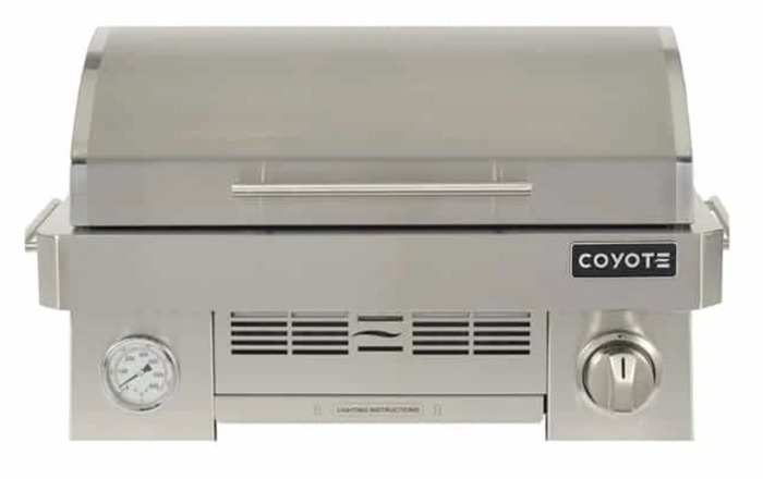 "Coyote Portable 25"" Grill Gas ""In Store Save Big"""