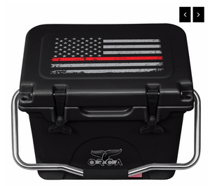 "First Responder Thin Red Line 20 Quart (In Stock) Made in USA ""In Store Savings"""