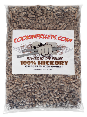 3 lbs Sample Bag 100% Hickory Cookin Pellets