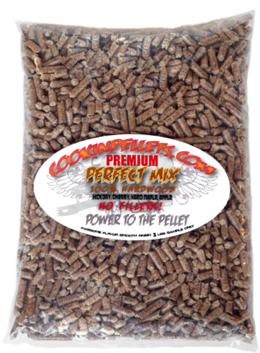 3 lbs Sample Bag Perfect Mix Cookin Pellets