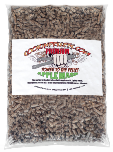 3 lbs Sample Bag Apple Mash Cookin Pellets