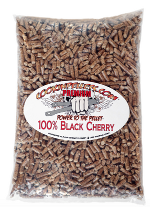 3 lbs Sample Bag 100% Black Cherry Cookin Pellets