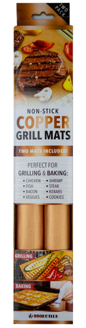Copper Grill Mats - 2 PACK